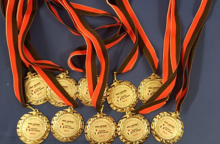 """Opt medalii de aur, Premiul """"Politehnica 100"""" și 68 diplome de excelență pentru USAMV Cluj-Napoca, la Salonul ProInvent 2020"""
