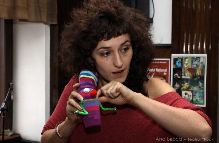 """Teatrul Puck reia atelierele """"Micul Păpușar"""", în variantă online"""