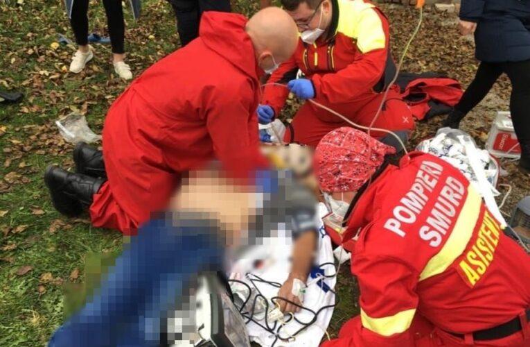 Un bărbat din Huedin a murit după ce s-a spânzurat! SMURD-ul a intervenit cu elicopterul