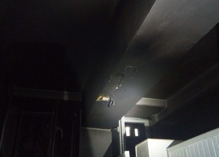 Spitalul CFR Cluj-Napoca, aproape de o tragedie. Un incendiu a izbucnit de la un scurtcircuit într-o toaletă. Pacienţii au fost evacuaţi de urgenţă
