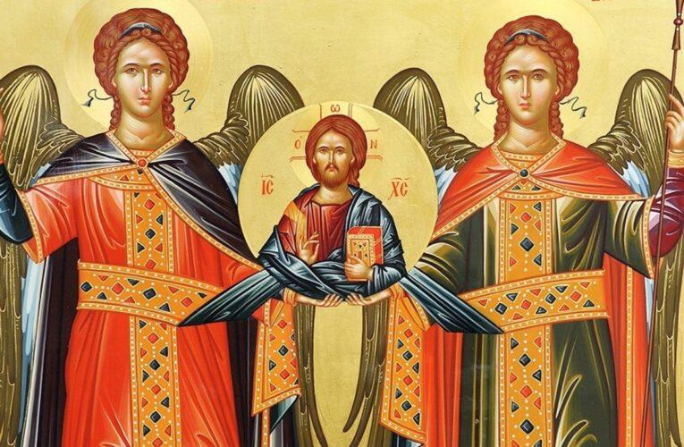 LA MULȚI ANI! Creştinii îi sărbătoresc astăzi pe Sfinţii Arhangheli Mihail şi Gavril