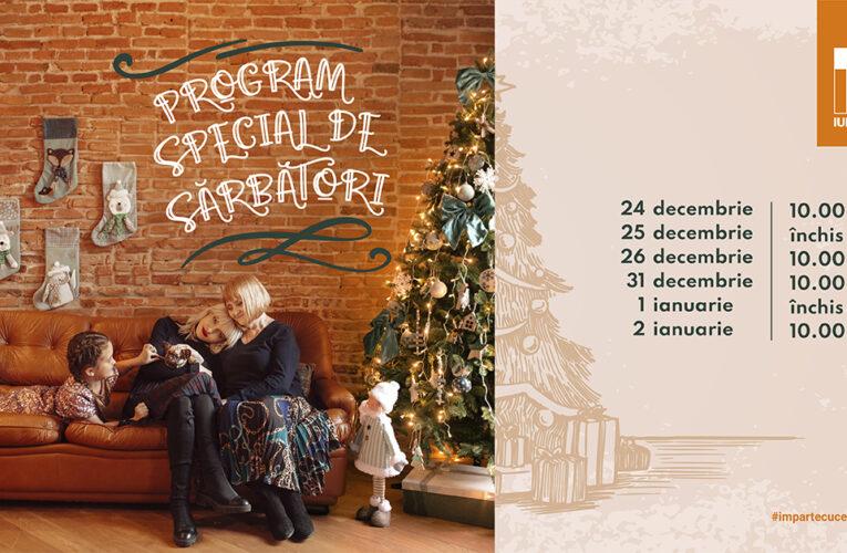 Program special de Crăciun și Revelion al magazinelor și restaurantelor din Iulius Mall Cluj