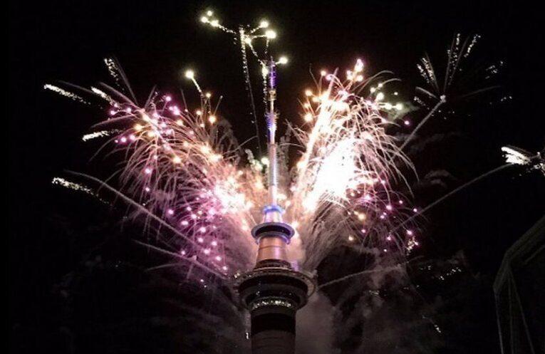 Australia și Noua Zeelandă au trecut în 2021 cu focuri spectaculoase de artificii