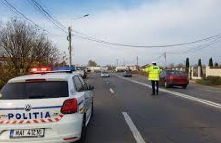 Poliția din Gherla a împărțit amenzi în trafic pentru viteză și alte nereguli
