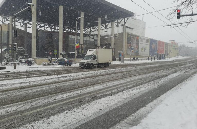 Gerul cucerește România. Temperaturi de până la -18 grade şi ninsori