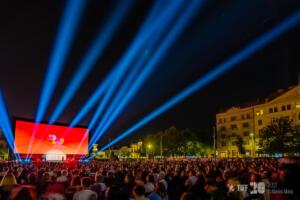 Piața Unirii la Gala de închidere TIFF 2021 - Foto Marius Mariș